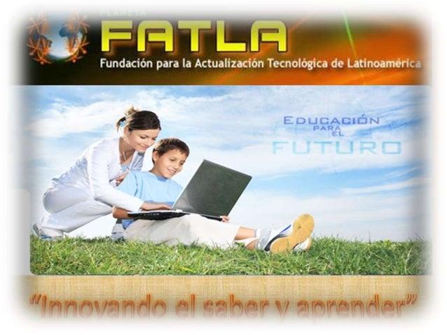 Bloque Académico en la               Metodología PACIEProgramas expertos E-Learnig de FATLAPor: Leonardo Calvo      El Blo...