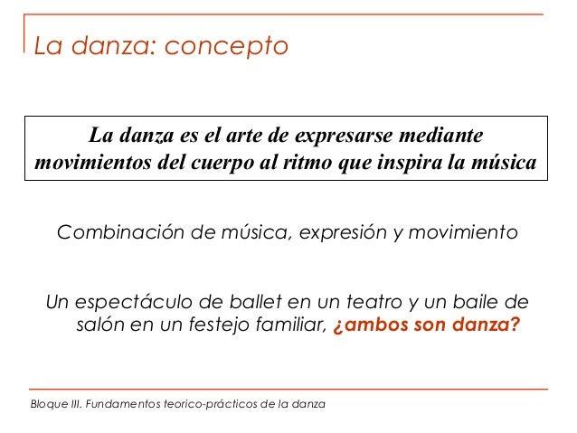 Expresi n corporal y danza bloque iii fundamentos de la for Definicion de espectaculo
