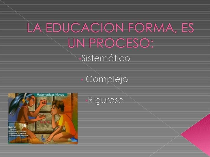 Bloque i la enseñanza Slide 2