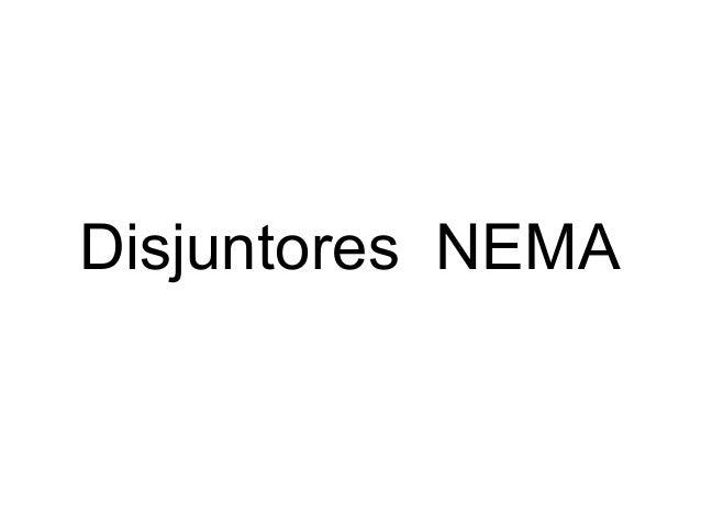 Disjuntores NEMA