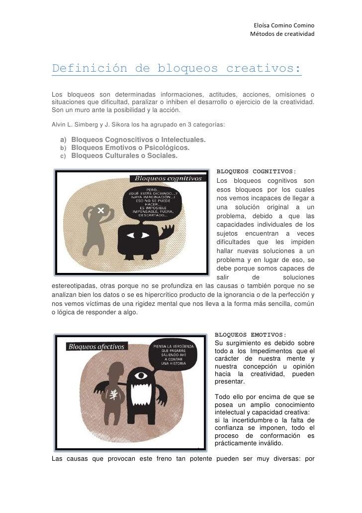 Bloqueos creativos Slide 2