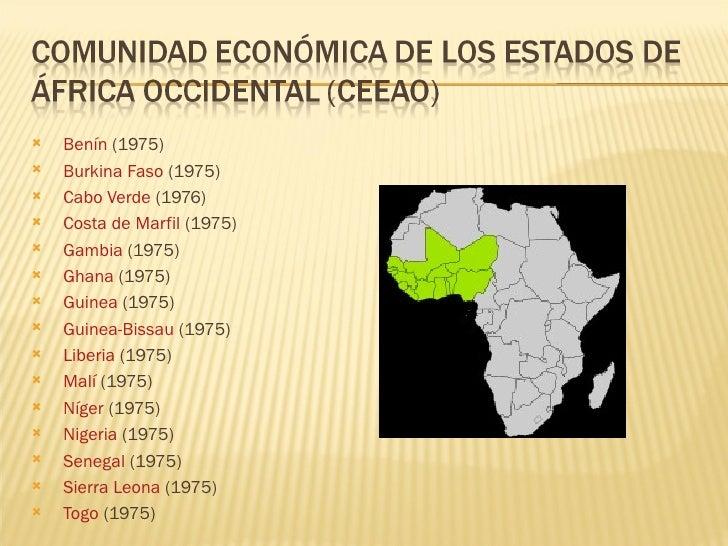 Bloques Económicos De áfrica Expo2