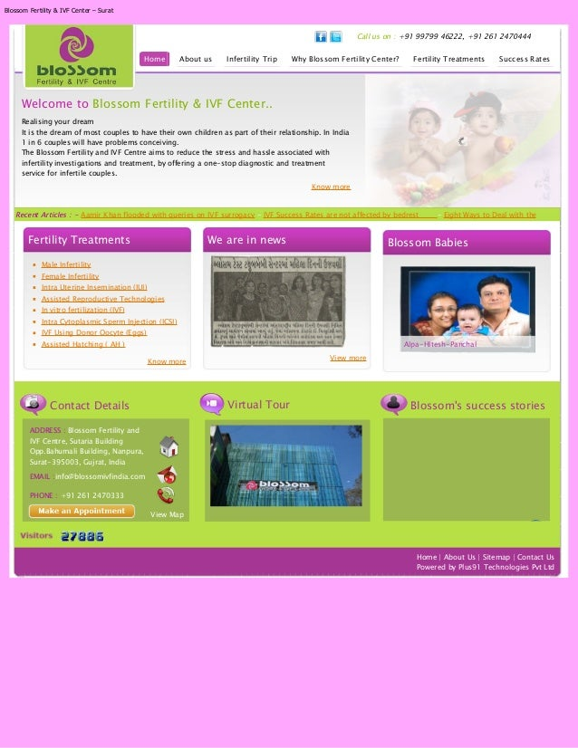 Blossom Fertility & IVF Center – Surat                                                                                    ...