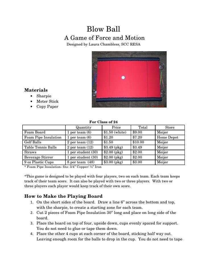 BlowBall                         AGameofForceandMotion                            DesignedbyLauraChambless,SCC...