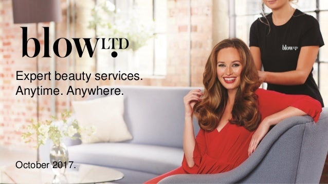 October 2017. Expert beauty services. Anytime. Anywhere.