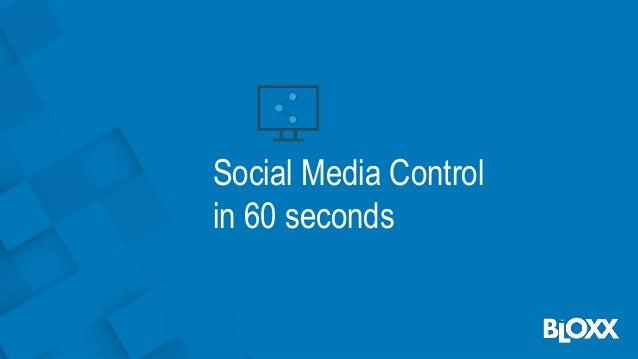 Social Media Control in 60 seconds