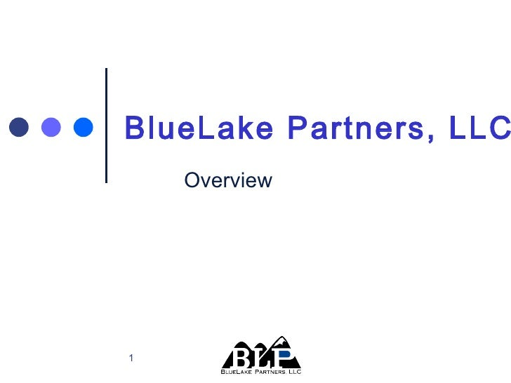 Overview  BlueLake Partners, LLC