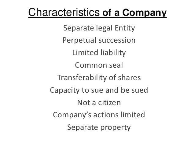 separate legal entities