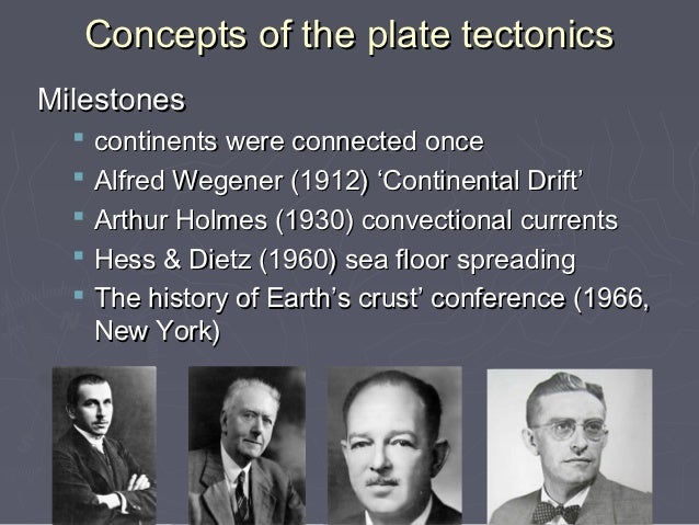 Plate tectonics for Match the ocean floor feature with its characteristic