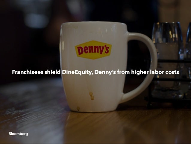 Franchisees shield DineEquity, Denny's from higher labor costs