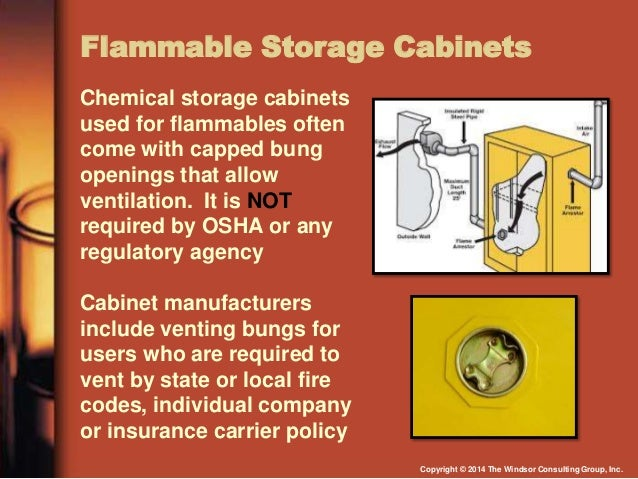 ... 38. Flammable Storage Cabinets ...
