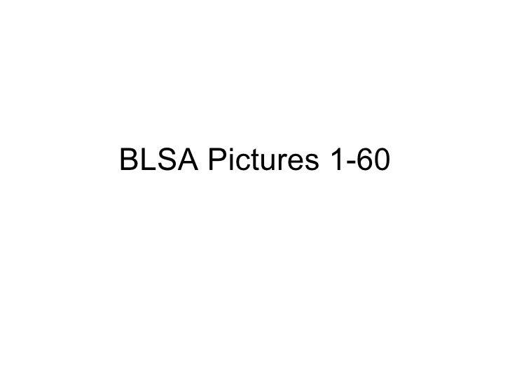 BLSA Pictures 1-60