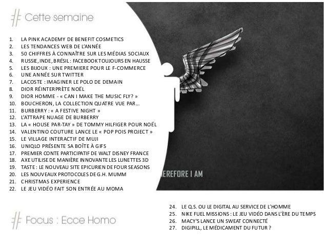 BLSTK Replay n°30 > La revue luxe et digitale du 06.12 au 12.12  Slide 2