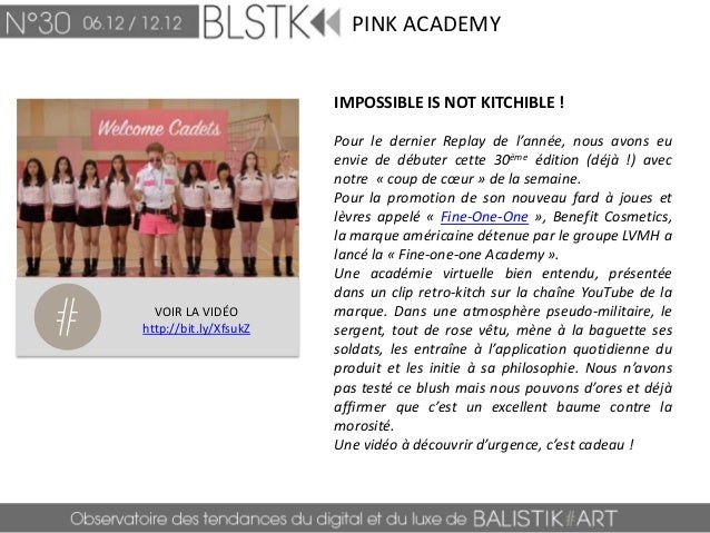 BLSTK Replay n°30 > La revue luxe et digitale du 06.12 au 12.12  Slide 3