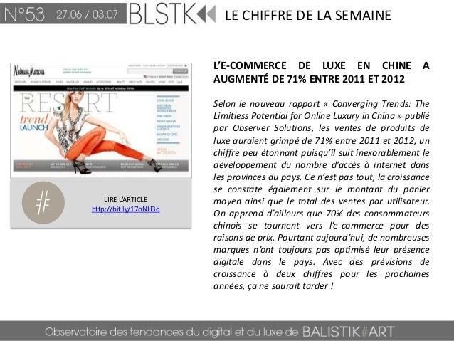 BLSTK Replay n°53 > La revue luxe et digitale du 27.06 au 03.07 Slide 3