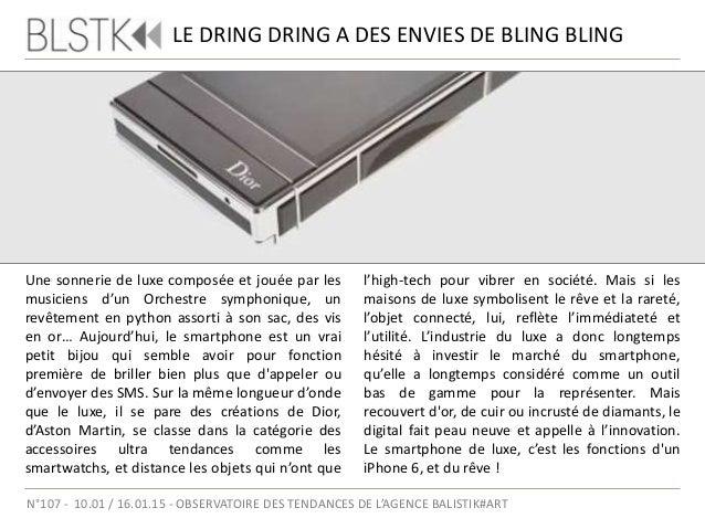 LE 88 TAURI DE TONINO LAMBORGHINI Focus / Luxury Smartphone N°107 - 10.01 / 16.01.15 - OBSERVATOIRE DES TENDANCES DE L'AGE...