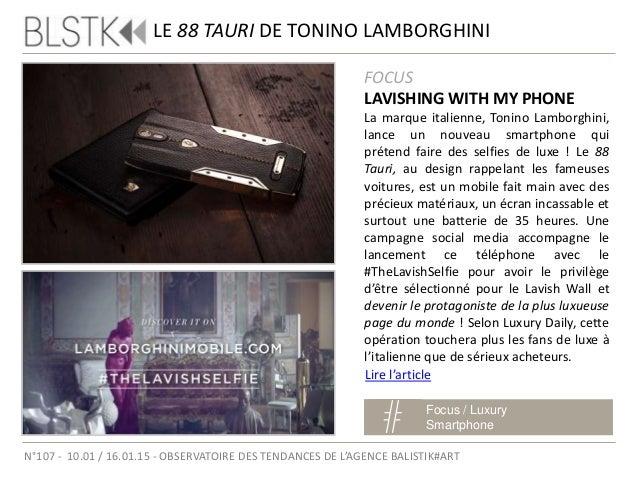 FOCUS LIMITED EDITION La maison Savelli, spécialisée dans la création de smartphones d'exception, surprend une fois de plu...