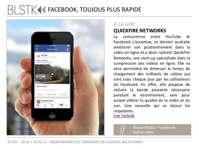 TWITTER ET LE MOBILE Social Media / Trends Twitter N°107 - 10.01 / 16.01.15 - OBSERVATOIRE DES TENDANCES DE L'AGENCE BALIS...