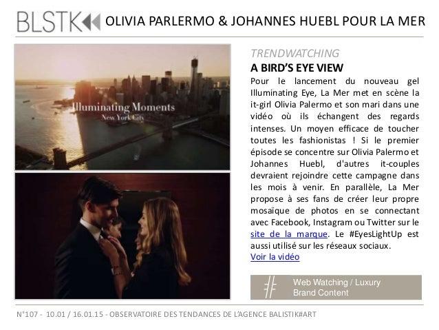 SAINT TIFFANY'S DAY Web Watching / Digital Luxury N°107 - 10.01 / 16.01.15 - OBSERVATOIRE DES TENDANCES DE L'AGENCE BALIST...