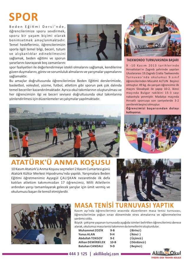 Akıllı Okul İvedik OSB Anadolu Teknik Lisesi Bülten