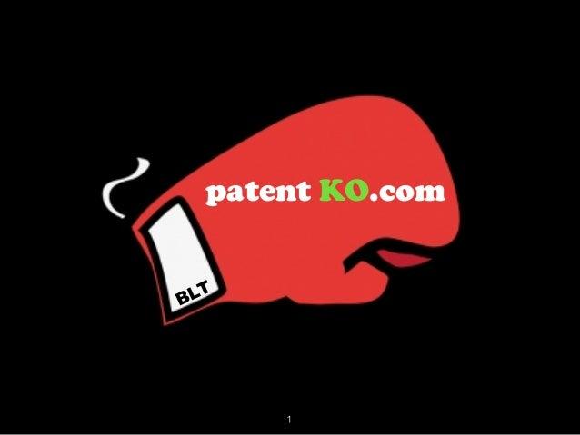 patent KO.com BLT 1