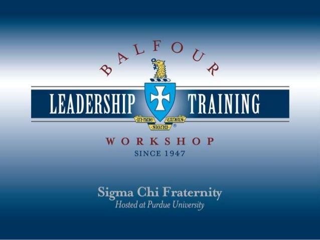 Welcome Chris Brown, FURMAN 1989 Chairman, Balfour Leadership Operating Board (BLOB)