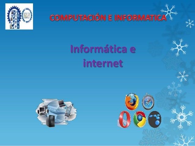 Informática einternet