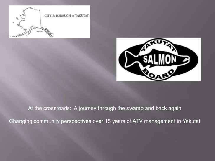 At the crossroads: A journey through the swamp and back againChanging community perspectives over 15 years of ATV manageme...