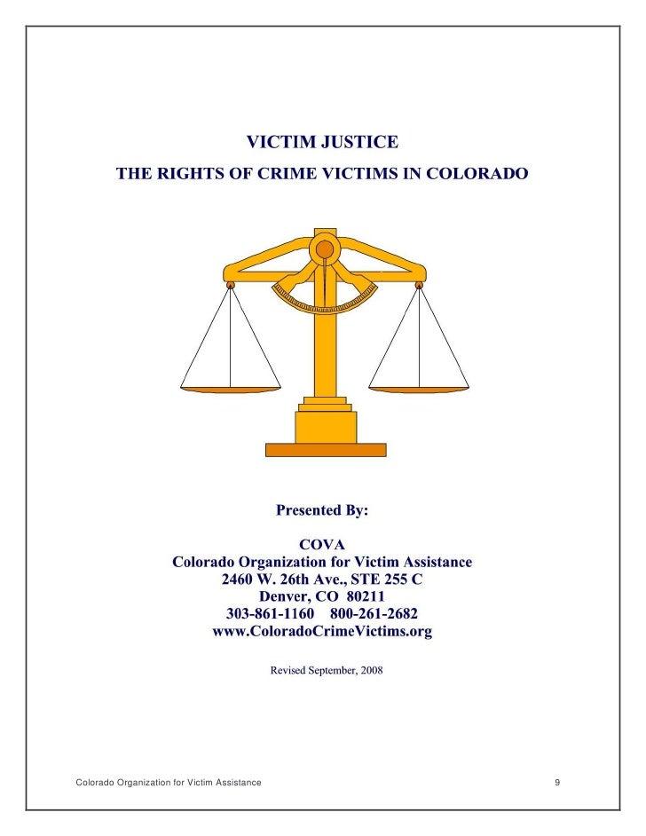 Colorado Organization for Victim Assistance   9