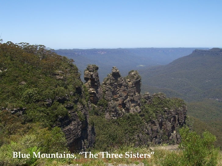 """Blue Mountains, """"The Three Sisters"""""""
