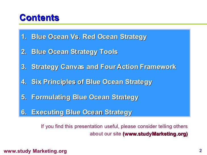 blue ocean strategy 2 essay Apple five forces analysis (porter's model)  apple inc five forces analysis  blue ocean vs five forces.