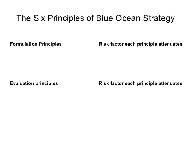 blue ocean strategy summary Summary written by: parin patel  well, as you'll read in blue ocean strategy,  kim and mauborgne suggest your way out is in creating a blue ocean  the  blue ocean strategy has been used by companies like cirque du soleil to  completely.