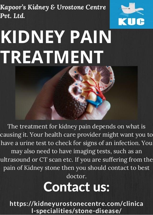 Kidney Pain Treatment Kapoor S Kidney Urostone Centre