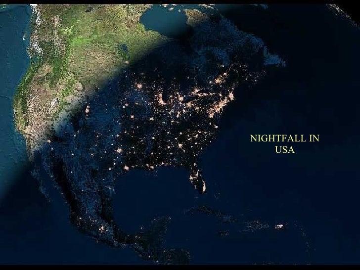 NIGHTFALL IN USA