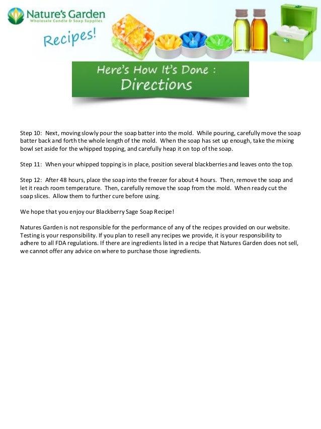 Room Temperature Cold Process Soap Recipes