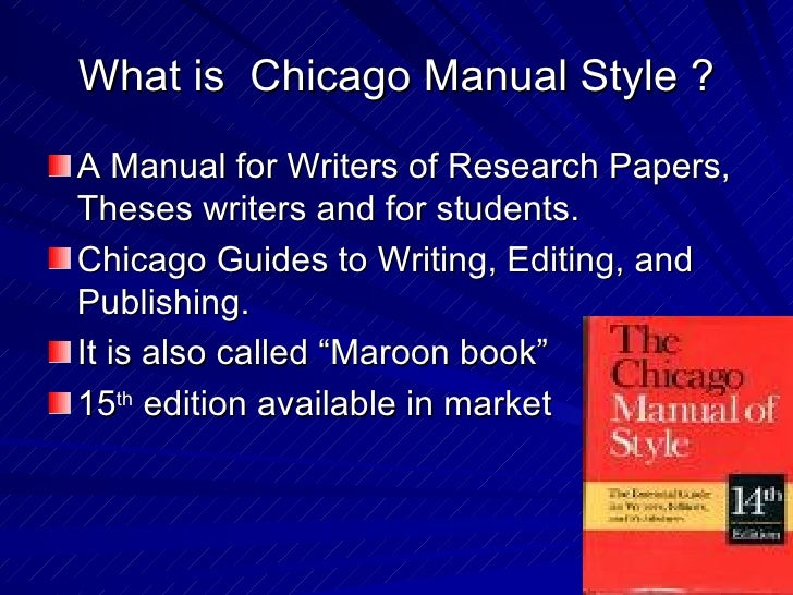 chicago style book Temple university writing center guide to chicago style documentation chicago style is a method of formatting and documenting sources in academic writing.