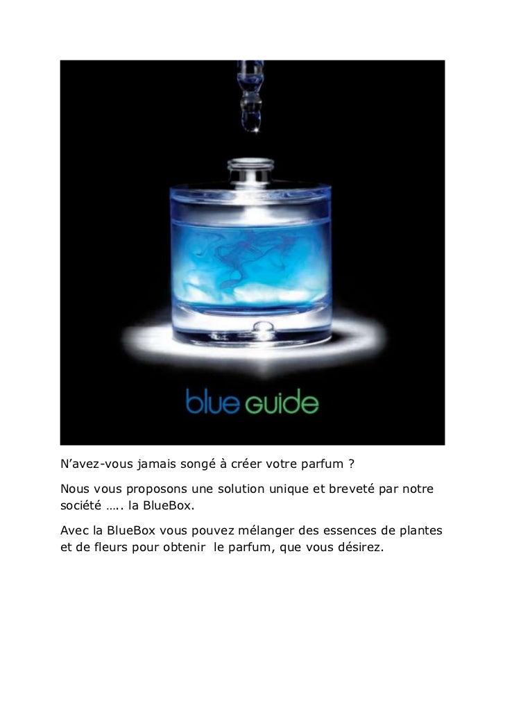 N'avez-vous jamais songé à créer votre parfum ?Nous vous proposons une solution unique et breveté par notresociété ….. la ...
