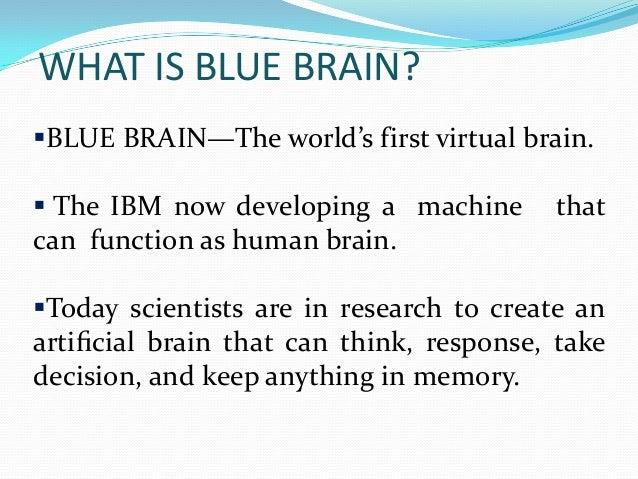 Talk:Blue Brain Project