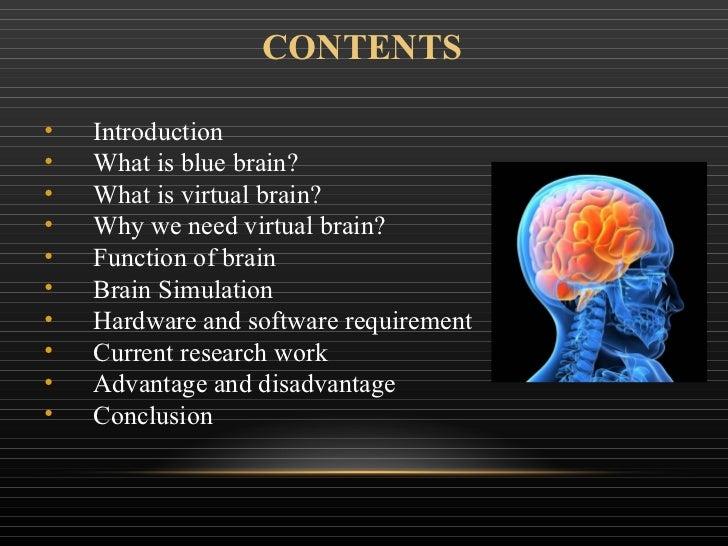 Blue brain seminar by bhaumik patel Slide 2