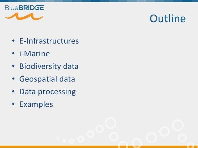 Using e-Infrastructures for Biodiversity Conservation Slide 3