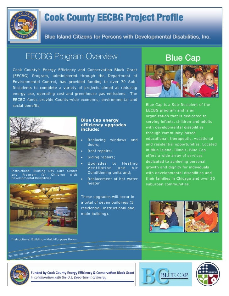 Cook County's Energy Efficiency and Conservation Block Grant(EECBG) Program, administered through the Department ofEnviron...
