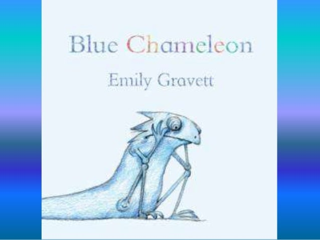 Blue chameleon is lonely. He is desperate to make a friend.