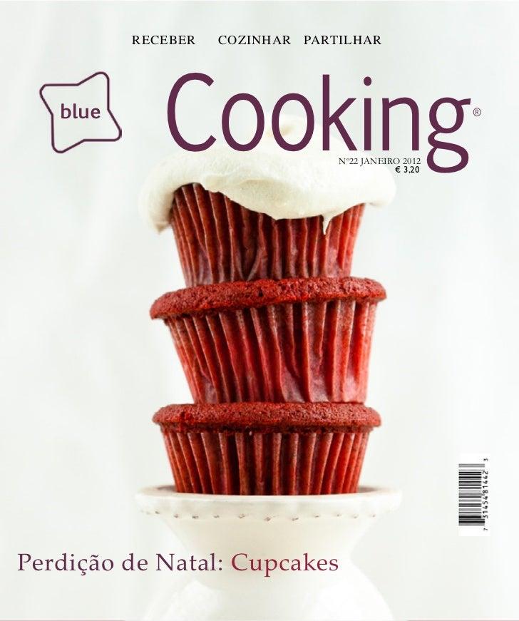RECEBER   COZINHAR PARTILHAR   blue             Cooking             Nº22 JANEIRO 2012                                     ...