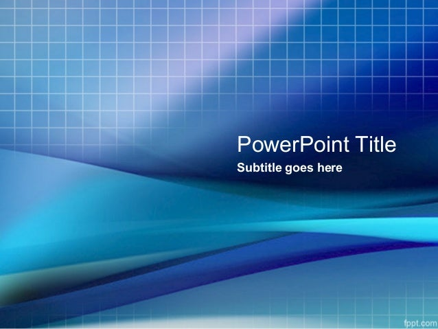 Business powerpoint templates free blue grid powerpoint background f powerpoint title subtitle goes here toneelgroepblik Images