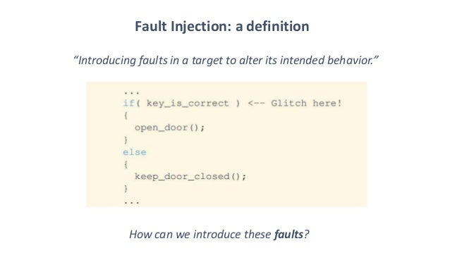 BlueHat v17 || KERNELFAULT: R00ting the Unexploitable using Hardware Fault Injection  Slide 2