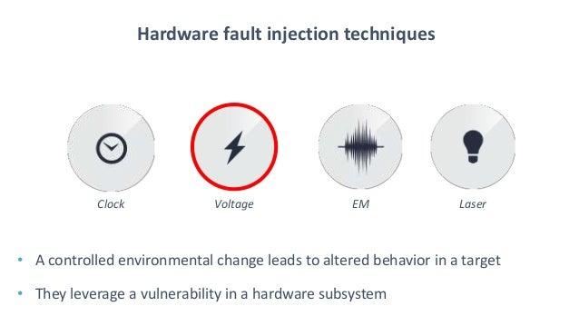 BlueHat v17 || KERNELFAULT: R00ting the Unexploitable using Hardware Fault Injection  Slide 3