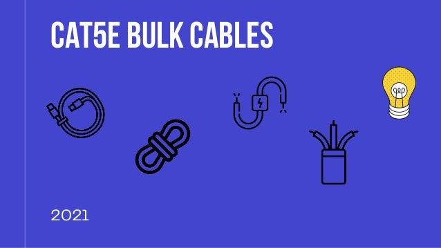 CAT5eBulkCables CAT5eBulkCables 2021