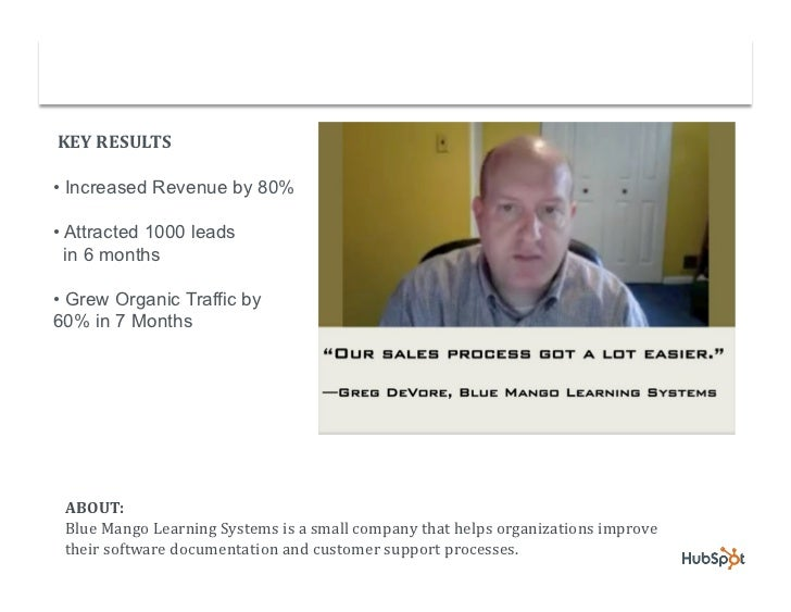 Software Documentation Company Increases Revenue by 80% with HubSpot Slide 2