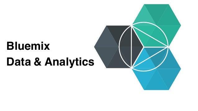 Bluemix Data & Analytics