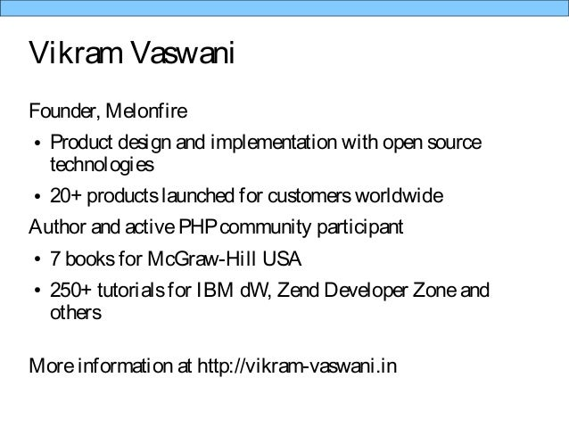 Using PHP with IBM Bluemix Slide 2